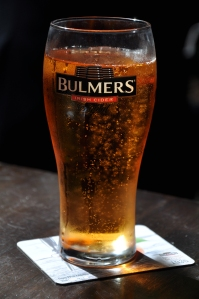 Mmmm...Bulmers! (Photographed on location in Dublin)