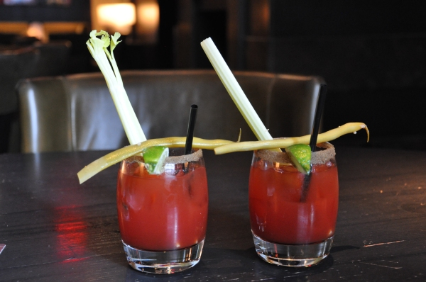 Not only do these Caesars look good, but they were made and consumed in the Westin Calgary